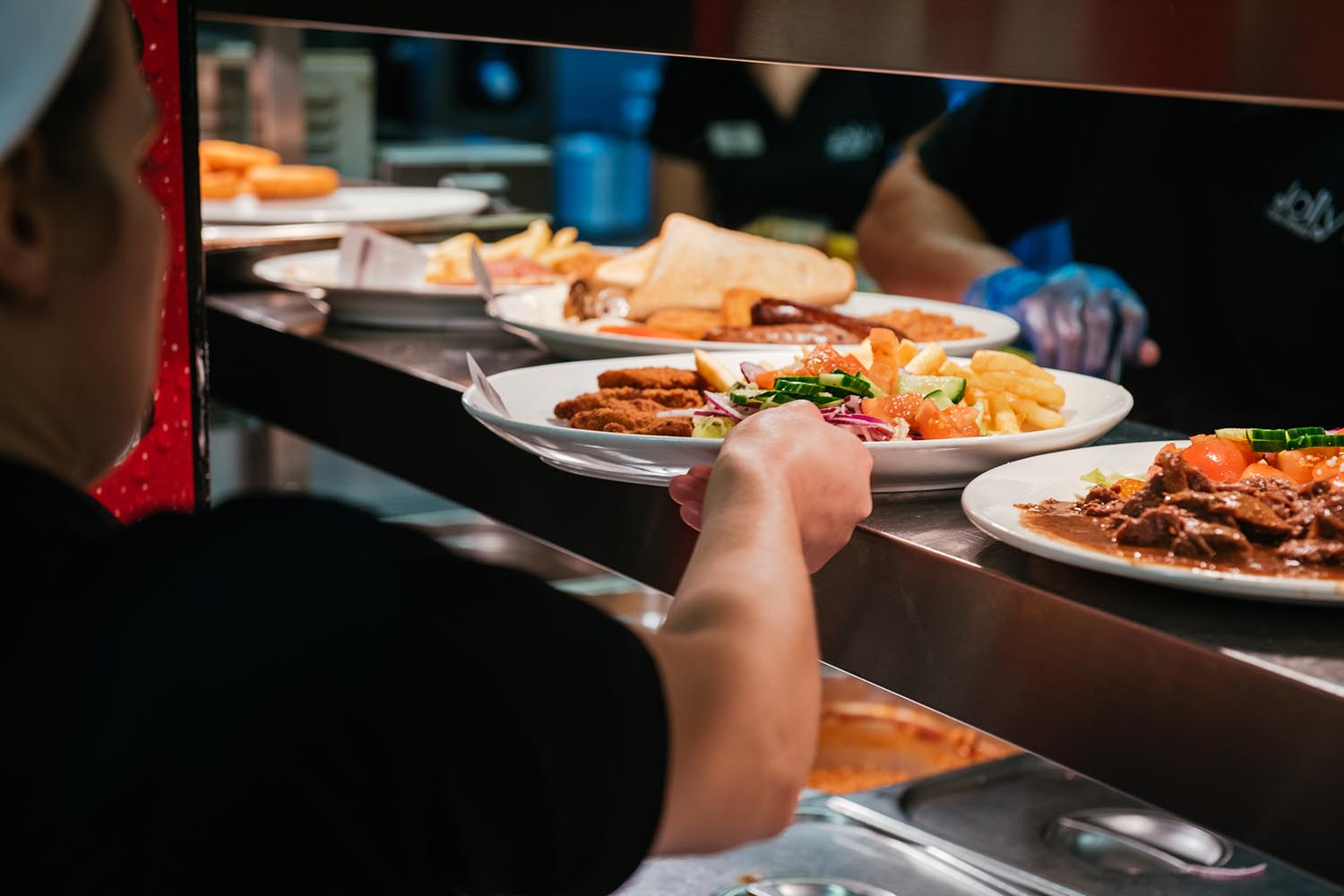 Construction Site Canteen - Jolly's Catering