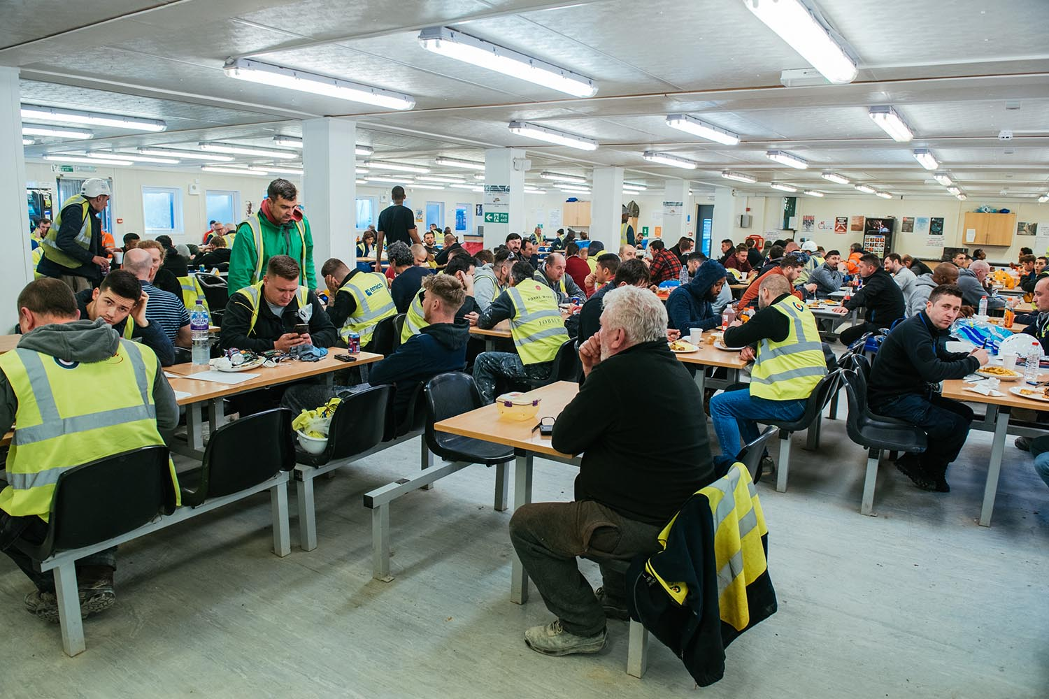 Construction Site Canteen Services - Jolly's Catering