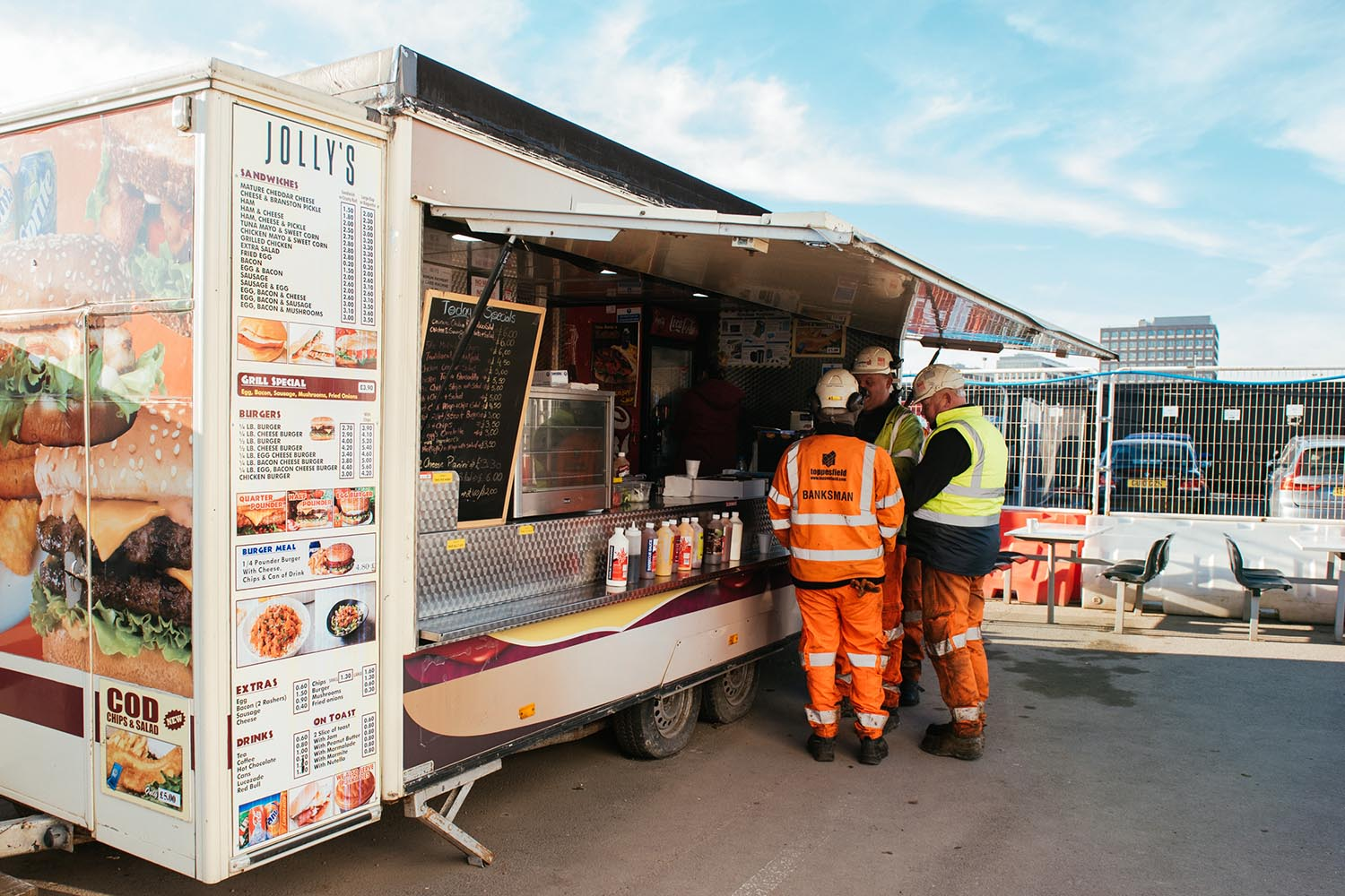 Mobile Catering Units London