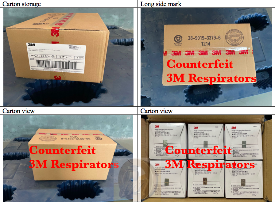 This picture comes from a doctored SGS Report which was for FFP2 masks but edited to look like a report for 3M1860 N95 Masks.If you look closely you will notice the dreadful 3M TAPE Counterfeiters use.We will discuss this further later on in our series of articles.