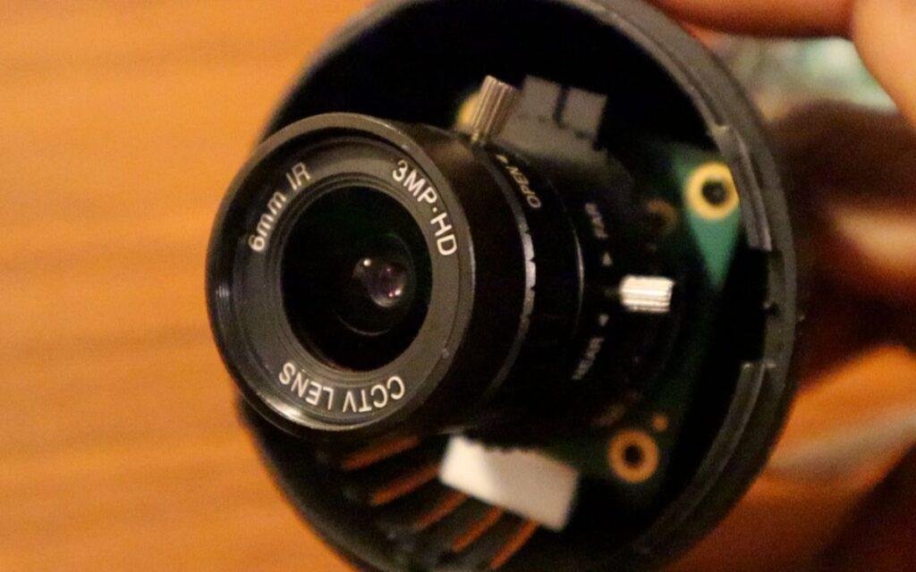 Smart CCTV Camera - pi hq camera adjustment