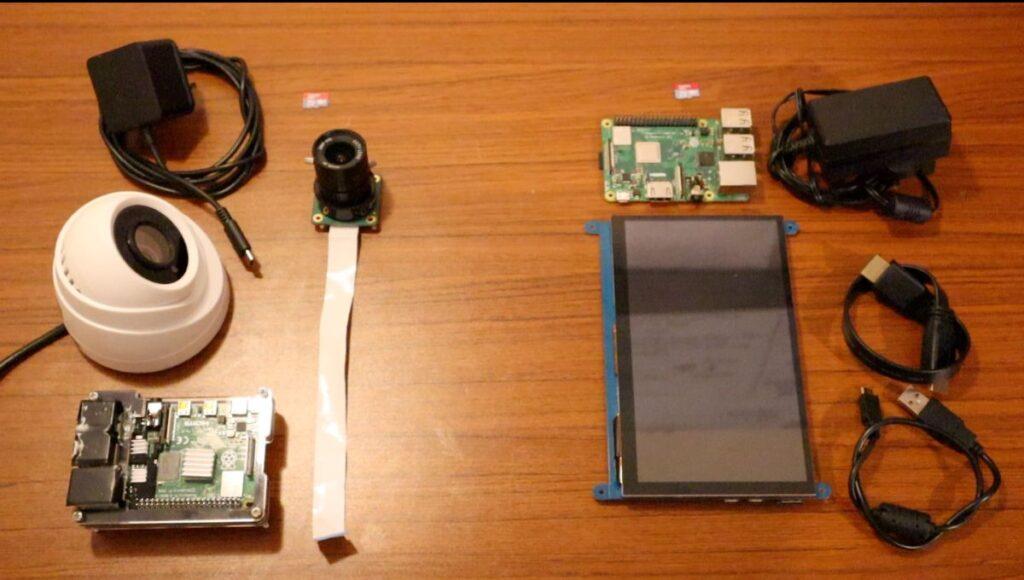 Smart CCTV Camera - parts list