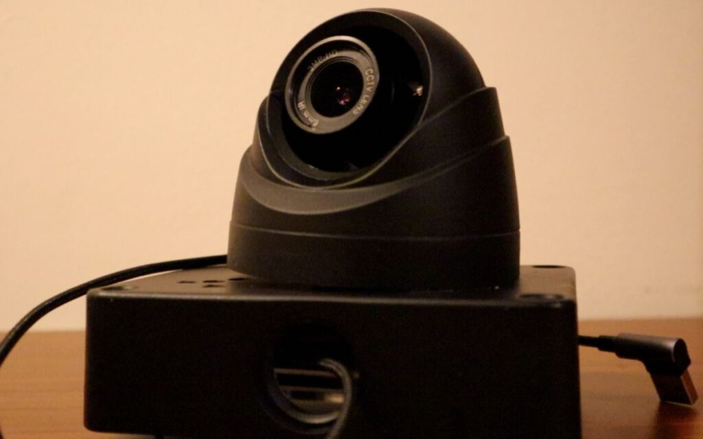 Smart CCTV Camera - camera and enclosure