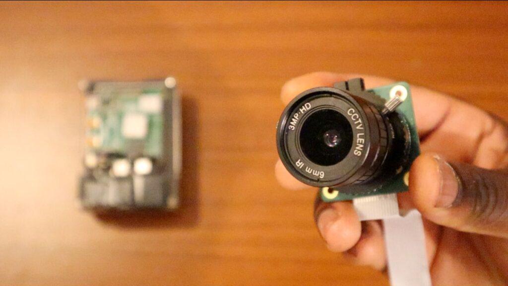 Smart CCTV Camera - raspberry pi high quality camera