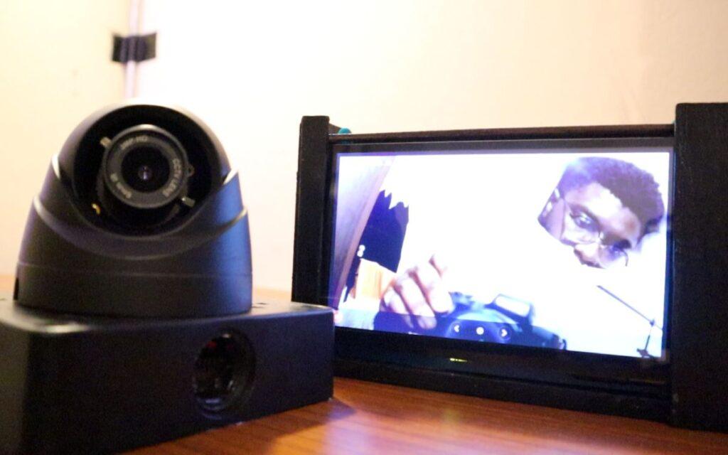 Smart CCTV Camera - display and cctv