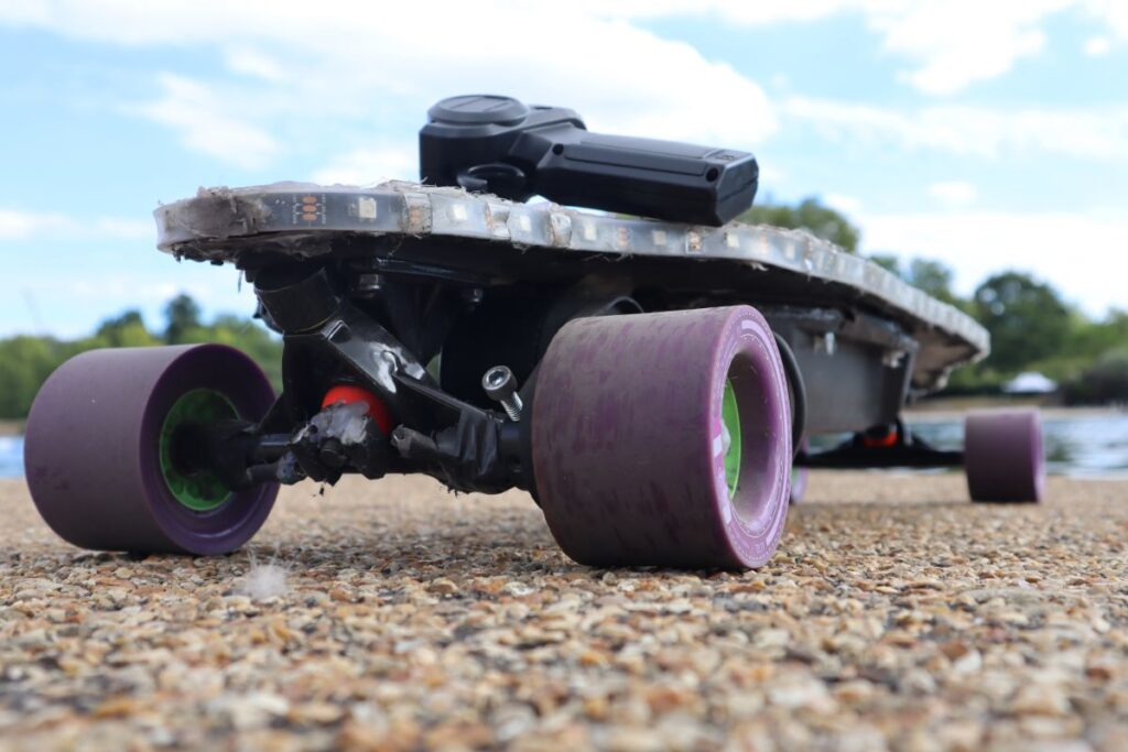 DIY Electric Skateboard - By the River