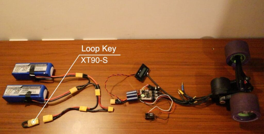 DIY Electric Skateboard - Loop Key Overview