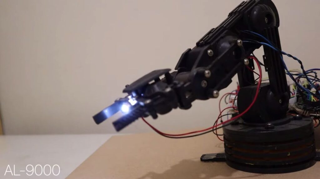 Human controlled Robotic Arm - Arduino Next Release