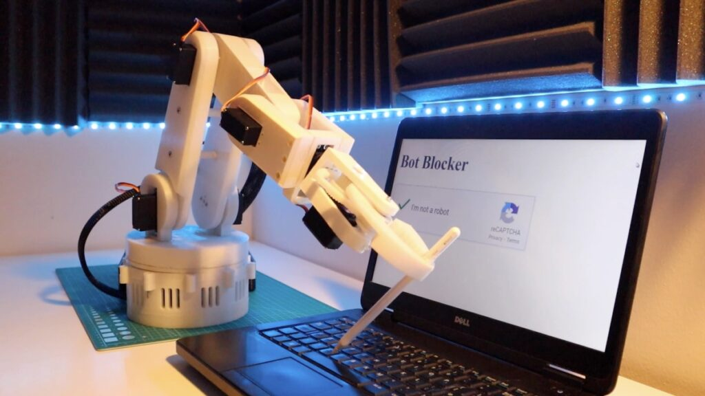 Robotic Arm - Robot Captcha