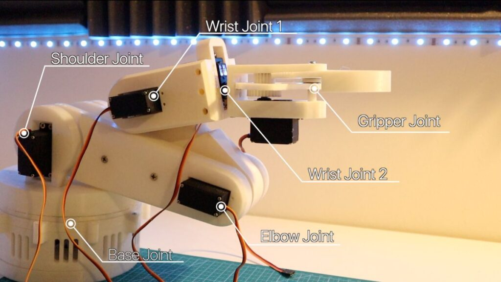 robotic arm all motors