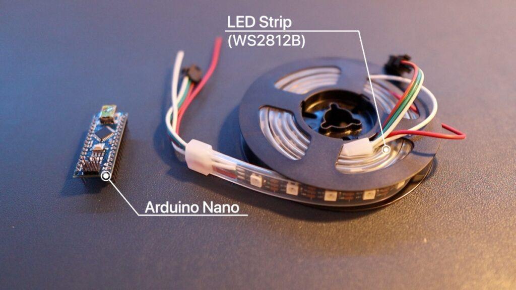 lightvest rgb strip arduino