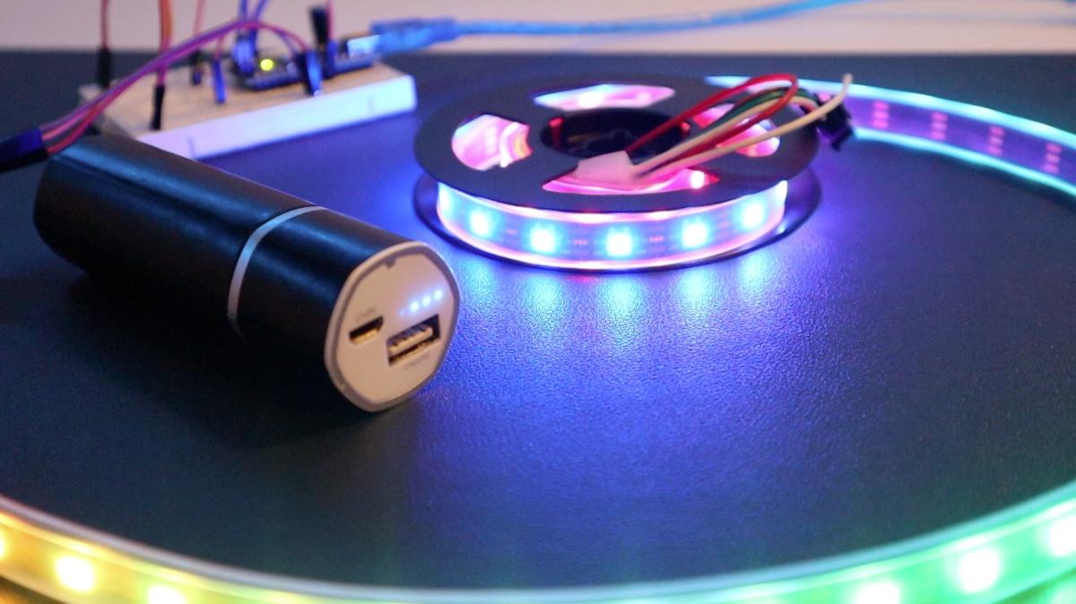 lightvest rgb strip battery
