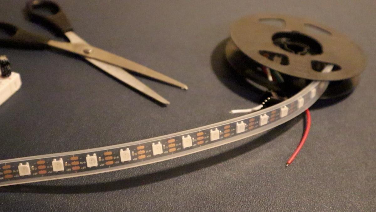 lightvest scissors cut led