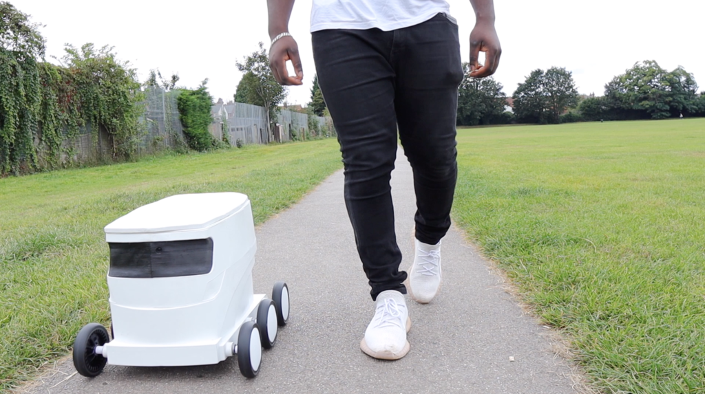 delivery-robot-walk-with-robot