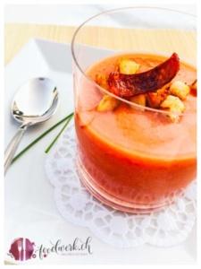 gazpacho ist gerade im sommer sehr erfrischend