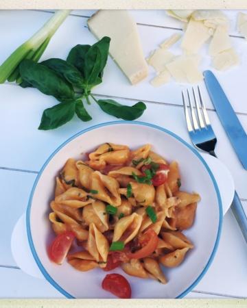 One Pot Pasta, einfach, alles in einem Topf, gesund, Trend