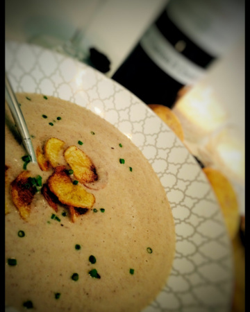 Morchelsuppe
