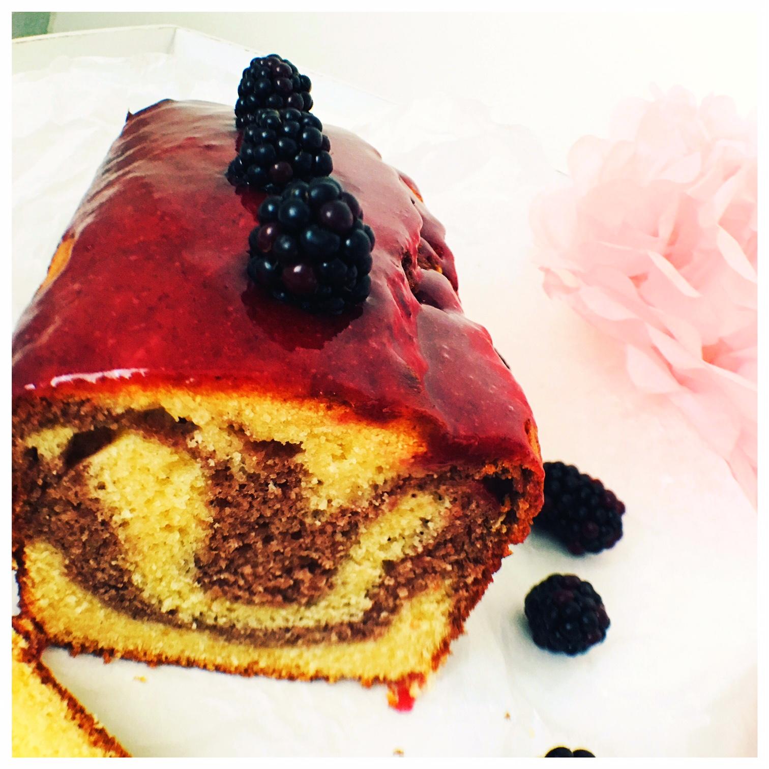 marmor, cake, Brombeeren, foodwerk.ch