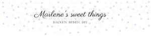marelne's sweet things