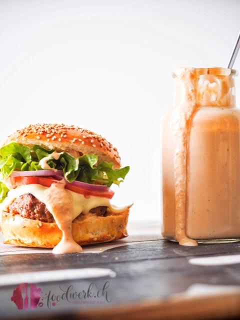 burger und sauce