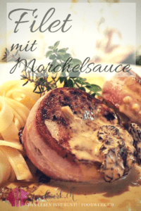 Morchelsauce mit Filet Medaillon