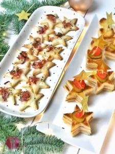 Toast und Blätterteig Sterne 1