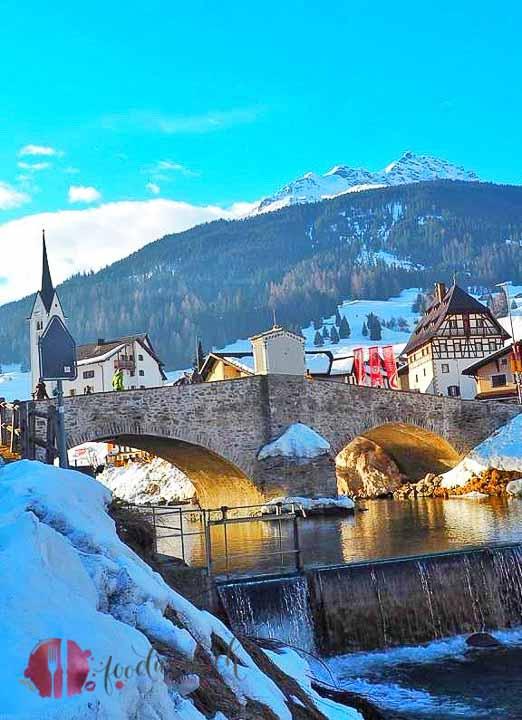 Brücke in Savognin