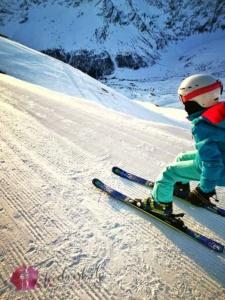 Liv fährt Ski