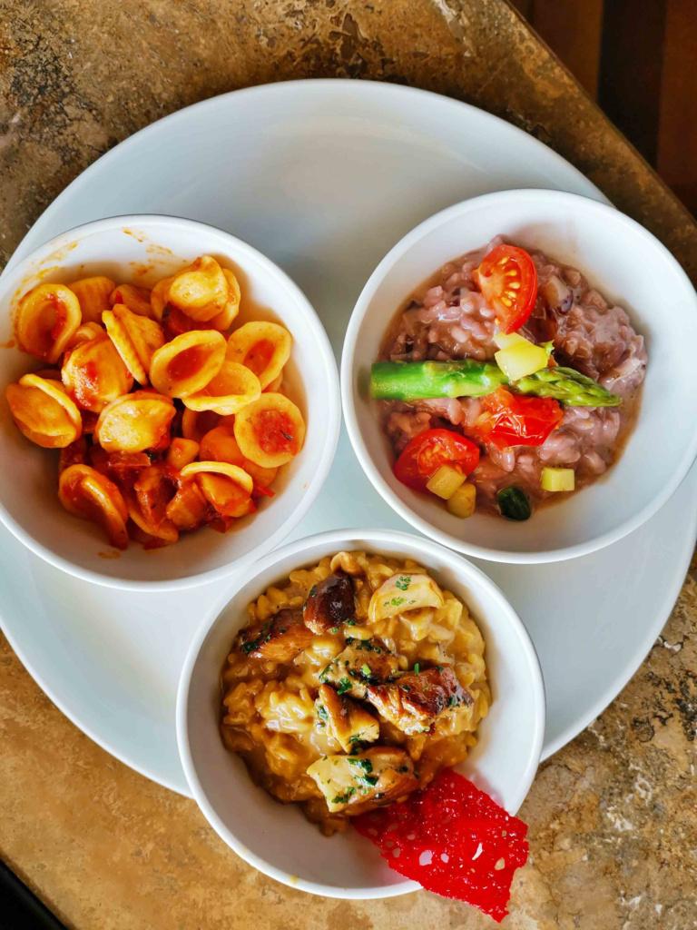 Essen im Parkhotel Brenscino