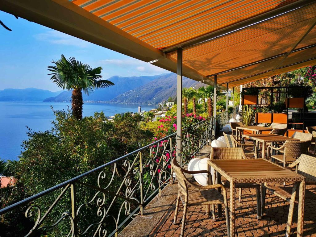 Terrasse Parkhotel Brenscino