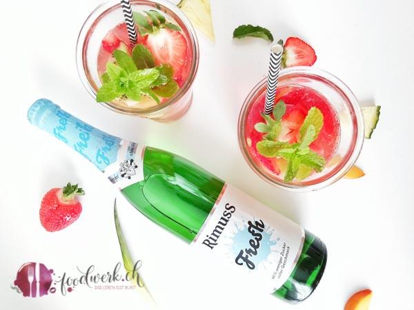 Früchtebowle mit Rimuss Fresh