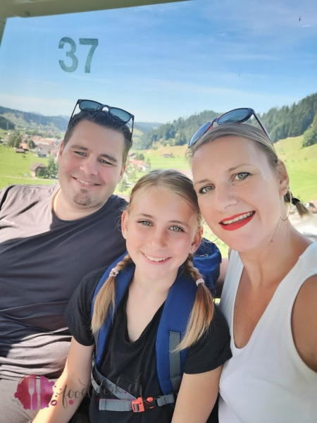 Family Time in der Seilbahn