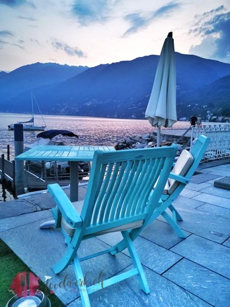 Eden Roc Maritim Sitzplatz auf Lago Maggiore in Ascona