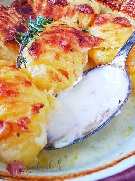 Kartoffelgratin detail
