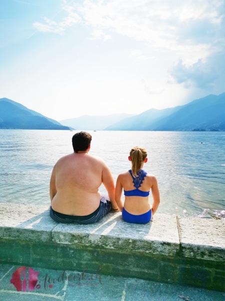 Liv und Tobi am See