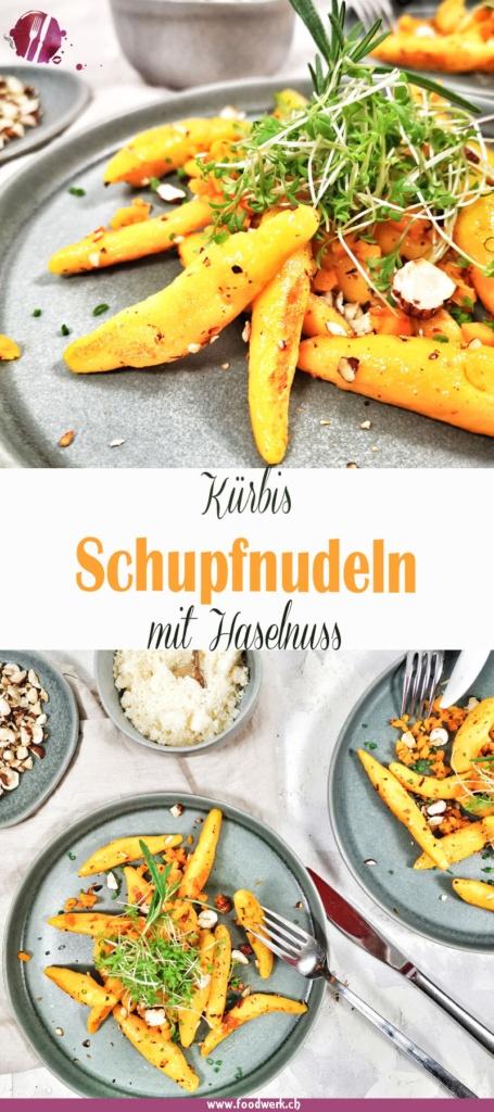 Kürbis Schupfnudeln