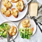 Kartoffel Lorraine von oben