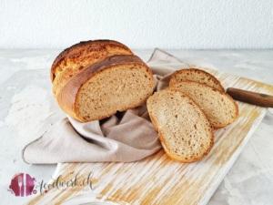 Berner Brot aufgeschnitten