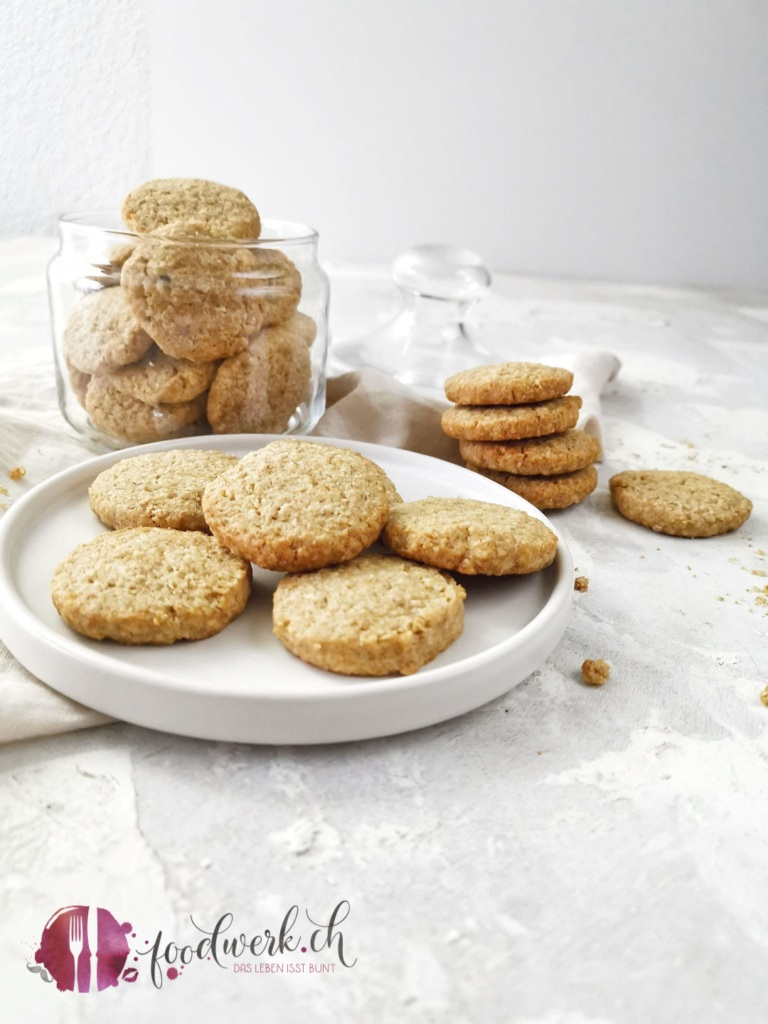 Haferflocken Vollkorn Kekse