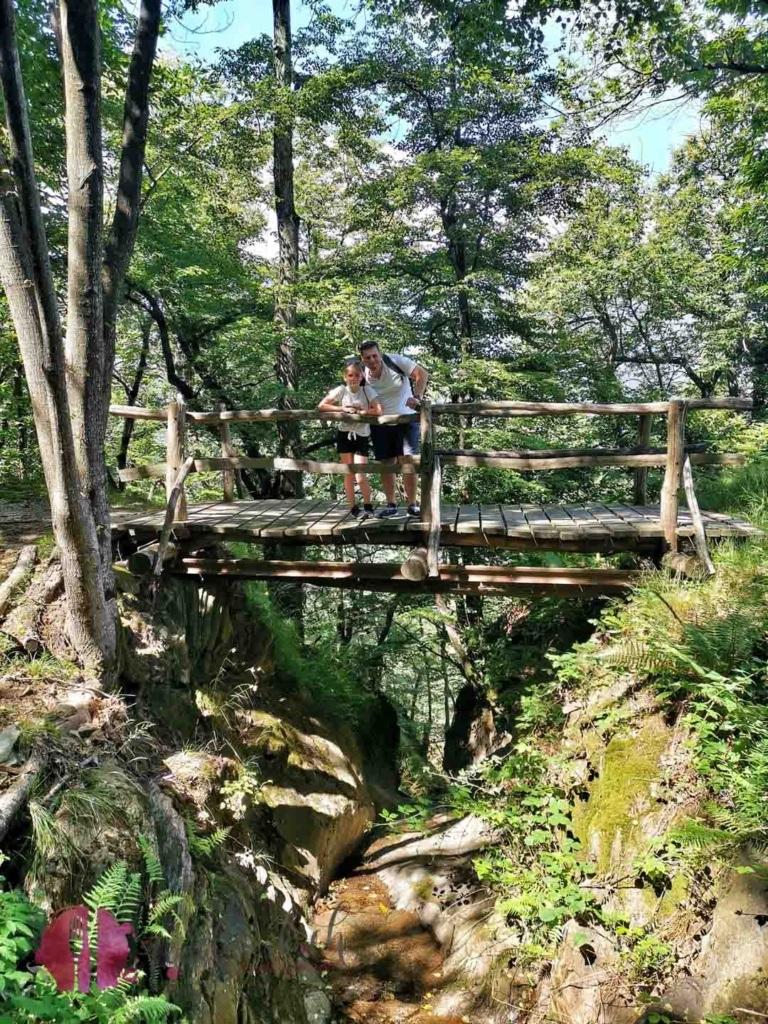 Brücke auf der via del ceneri