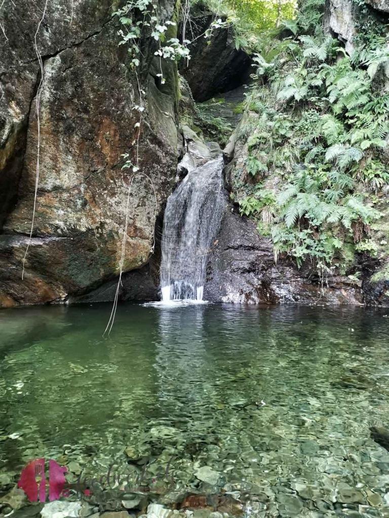 Wasserfall auf der via del ceneri