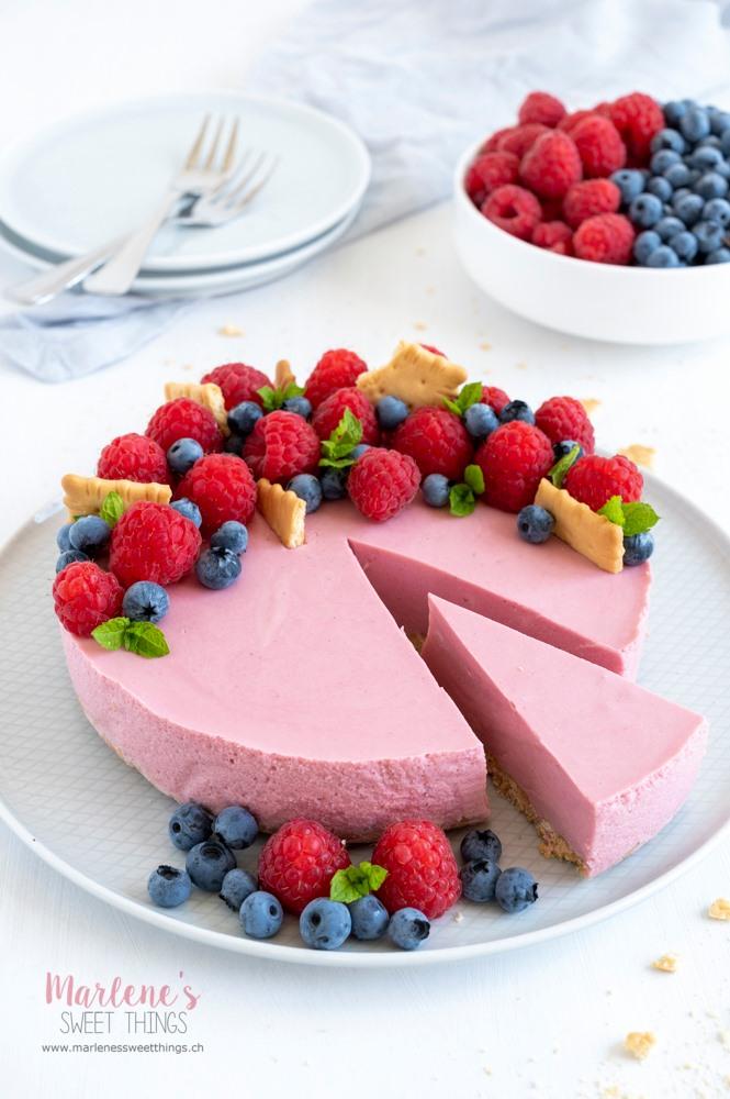 Himbeer Cheesecake Marlenes sweet things