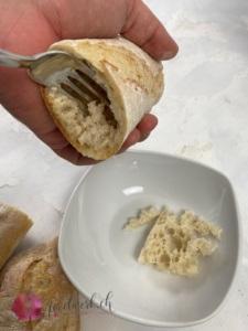 Brot aushoehlen