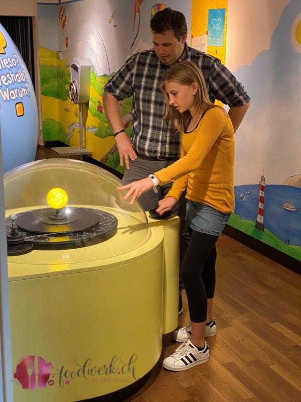 Planeten im Ravensburger Museum