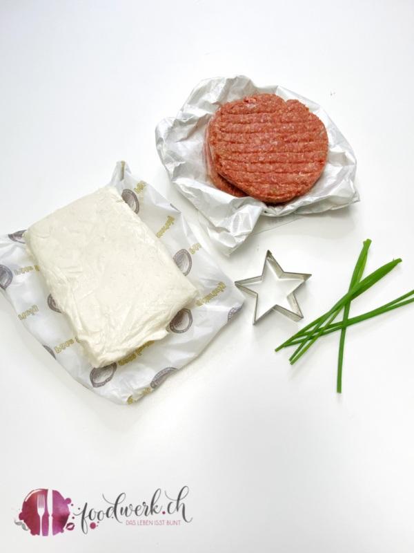 Aperoidee mit Blätterteig und Hamburger