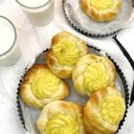 Vanille Nestchen gebacken von Liv mit Quark Öl Teig