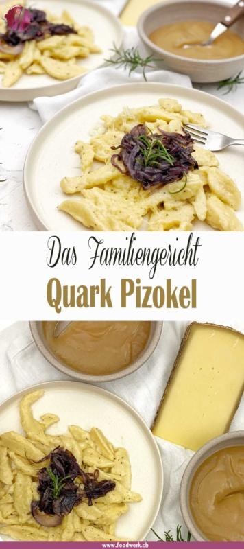 Pinterest Pin für Quark Pizokel