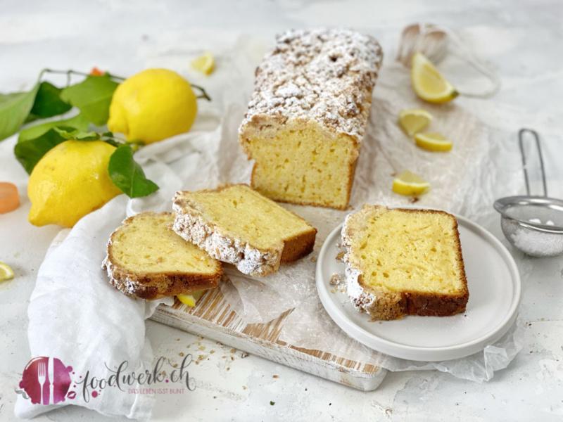 Karotten Dinkel Cake mit Zitrone und Joghurt