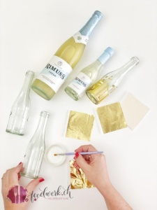 rimuss fresh upcycling zu vasen mit gold