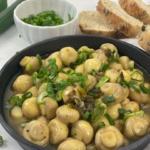 Champignons mit Balsamico und Honig